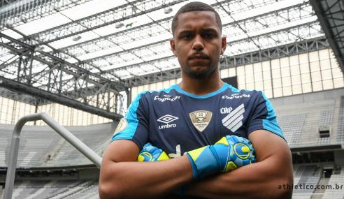 Náutico anuncia contratação do goleiro Anderson