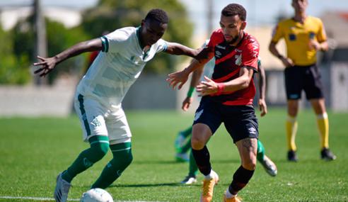 De virada, Athletico-PR vence América-MG e dorme na vice-liderança do Brasileirão Sub-20
