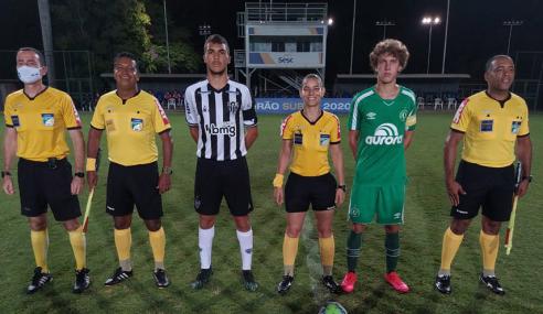 Atlético-MG leva empate da Chapecoense no fim e segue sem vencer no Brasileirão sub-17