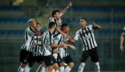 Atlético-MG bate Flamengo e iguala pontuação dos líderes do Brasileirão Sub-20