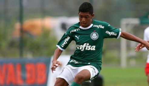 Palmeiras faz nove gols no Avaí-RO e avança na Copa do Brasil Sub-17