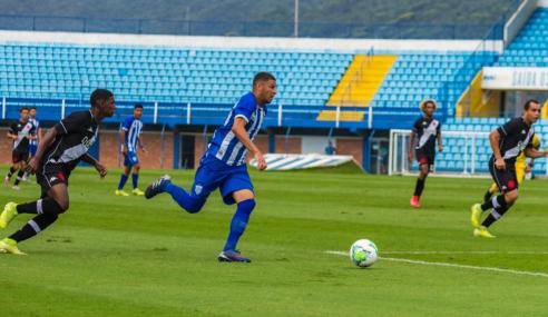 Arthur decide, e Vasco larga na frente do Avaí nas quartas da Copa do Brasil sub-20