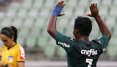 Palmeiras vence Bahia e fecha primeira fase na ponta do seu grupo no Brasileirão sub-17
