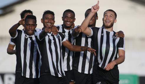 Juventude abre 2 a 0, mas Ceará busca virada pelo Brasileirão de Aspirantes