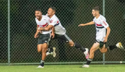 Fora de casa, São Paulo impõe quarta derrota consecutiva ao Cruzeiro no Brasileirão sub-20