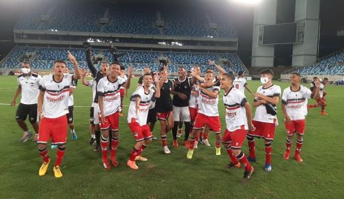 River empata no último lance e elimina Dom Bosco nos pênaltis na Copa do Brasil Sub-17