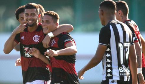 Flamengo vence e encerra sequência invicta do Botafogo no Brasileirão Sub-20