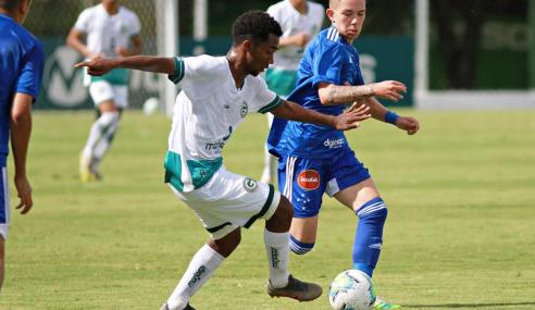 Cruzeiro deslancha no fim e derrota Goiás pelo Brasileirão sub-17