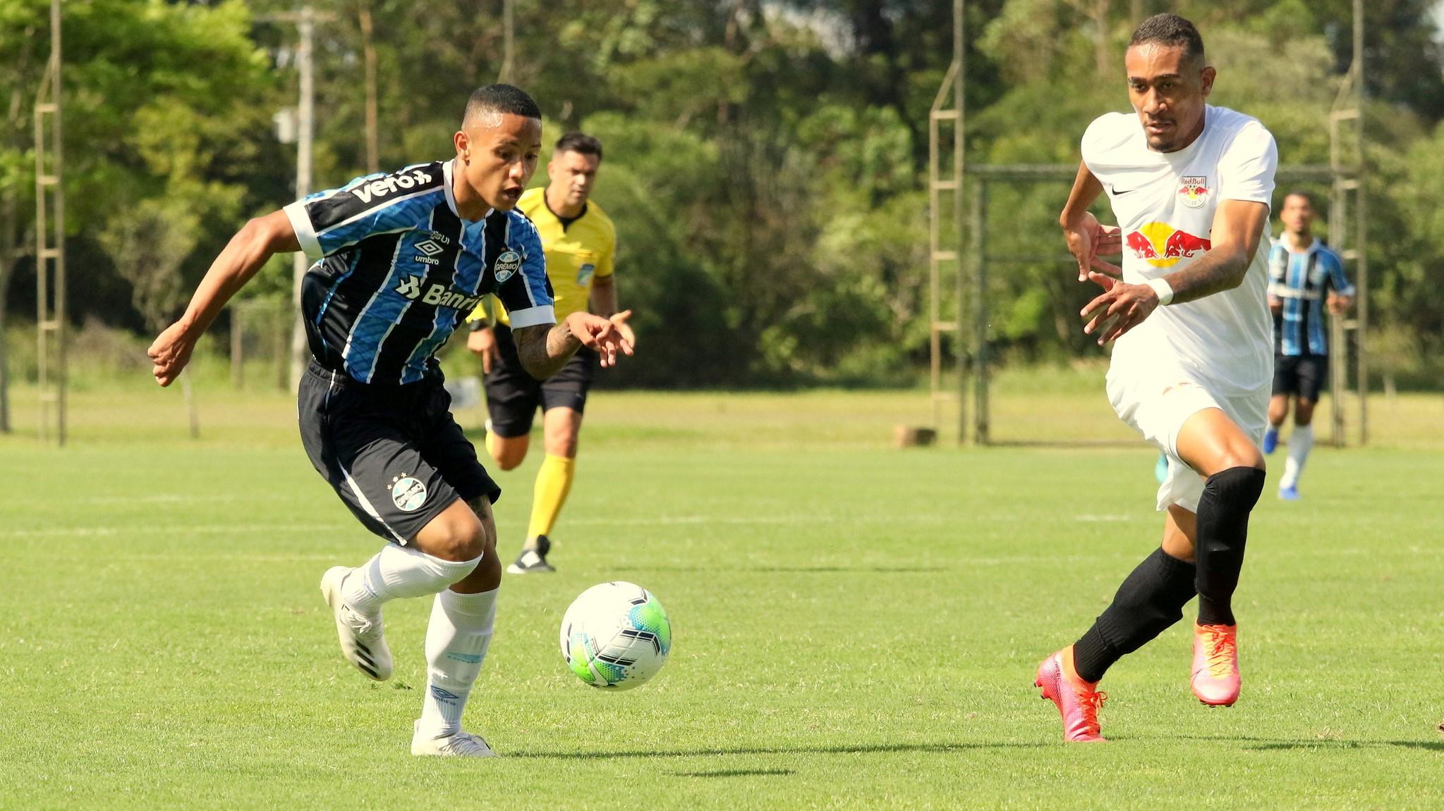 Grêmio e Red Bull Bragantino empatam e vão à segunda fase do Brasileirão de Aspirantes