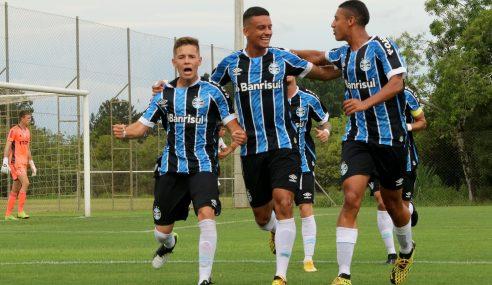 Grêmio vence São Paulo e esquenta briga pelo G-8 do Brasileirão Sub-20