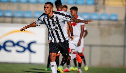 Artilheiro do Brasileirão sub-20 renova com o Atlético-MG