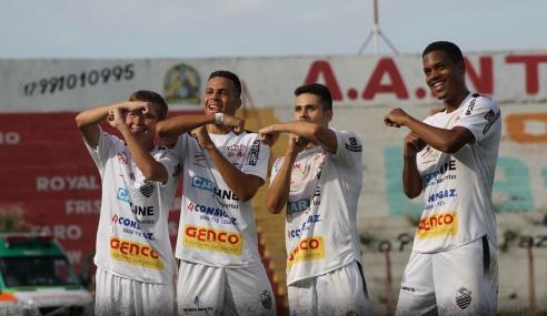 Comercial goleia Inter de Bebedouro e pega o São Paulo nas oitavas do Paulistão Sub-20