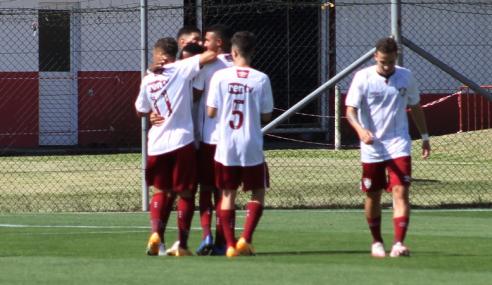 Fluminense define no primeiro tempo e vence Internacional pelo Brasileirão sub-17