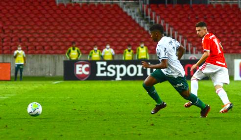Palmeiras bate Internacional no Beira-Rio e avança na Copa do Brasil sub-20