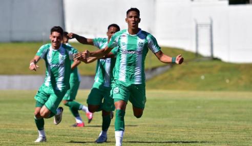 Marcos Vinícios faz quatro, Juventude goleia e vai à segunda fase do Brasileirão de Aspirantes