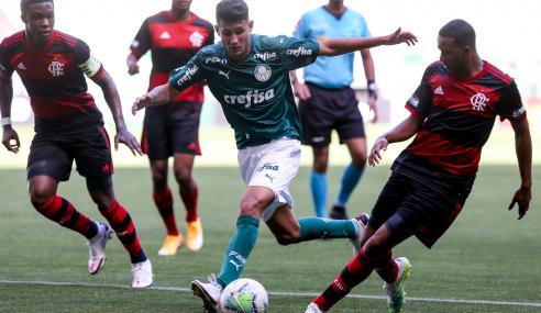 Flamengo empata com o Palmeiras e vai às semifinais do Brasileirão Sub-17