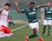 Palmeiras e Internacional empatam jogo de ida das quartas da Copa do Brasil sub-20
