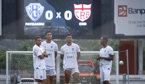 Brasileirão de Aspirantes: CRB não viaja, e Paysandu vence por W.O.