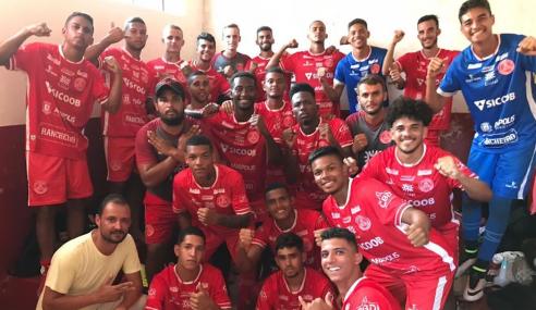 Atlético e Anapolina largam em vantagem nas semifinais do Torneio FGF sub-20