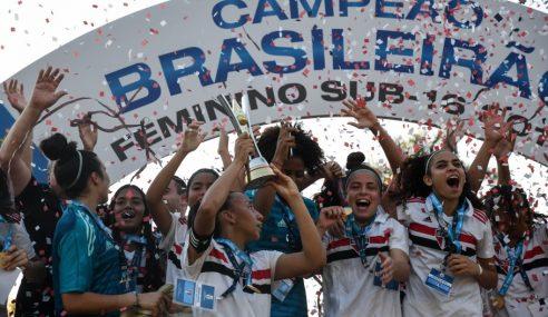 CBF divulga tabela do Brasileirão Feminino sub-16