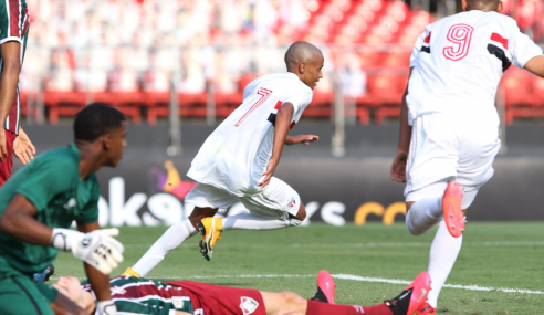 São Paulo vence Fluminense e larga em vantagem  nas semifinais do Brasileirão Sub-17