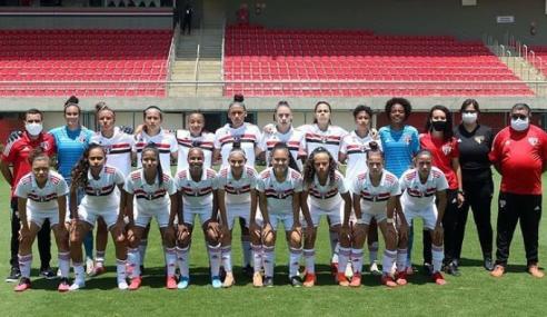 São Paulo vence Santos e fica perto das semifinais do Paulistão Feminino Sub-17; Audax e Ferroviária avançam
