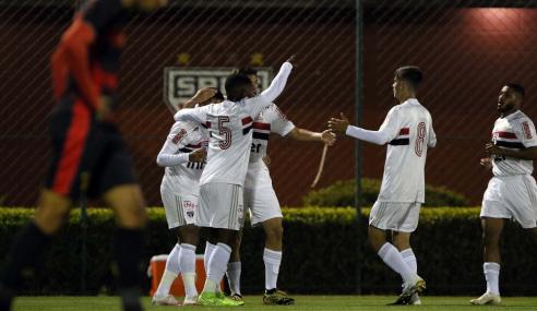 São Paulo bate Sport com dois de Galeano e volta a vencer no Brasileirão sub-20