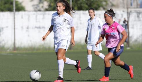 Santos e Audax empatam e mantêm invencibilidade no Paulistão Feminino Sub-17