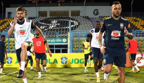 Desfalcada, Seleção Olímpica  inicia treinos no Egito