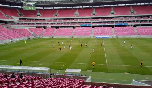 Sport Recife e Bahia empatam e seguem na parte de baixo da tabela do Brasileirão sub-20
