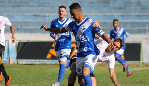 Taubaté e Corinthians empatam sem gols e seguem invictos no Paulistão sub-20