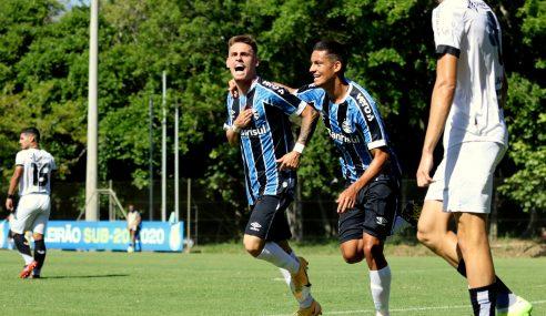 Em jogo de seis gols, Grêmio vence Ceará de virada pelo Brasileirão sub-20