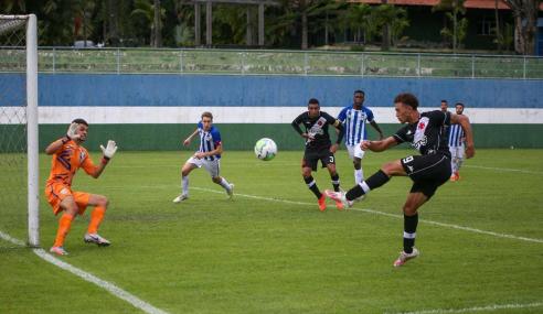 Vasco volta a vencer o Avaí e garante vaga nas semifinais da Copa do Brasil sub-20