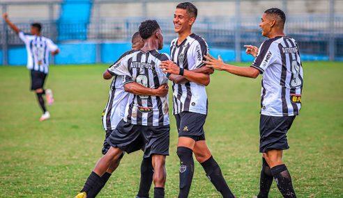 Atlético-MG faz 6 a 0 no São Raimundo-AM e avança na Copa do Brasil Sub-17