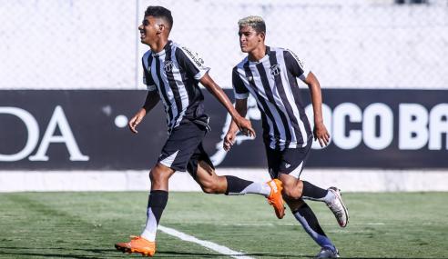 Ceará decide no primeiro tempo e elimina Cruzeiro-RS na Copa do Brasil Sub-17