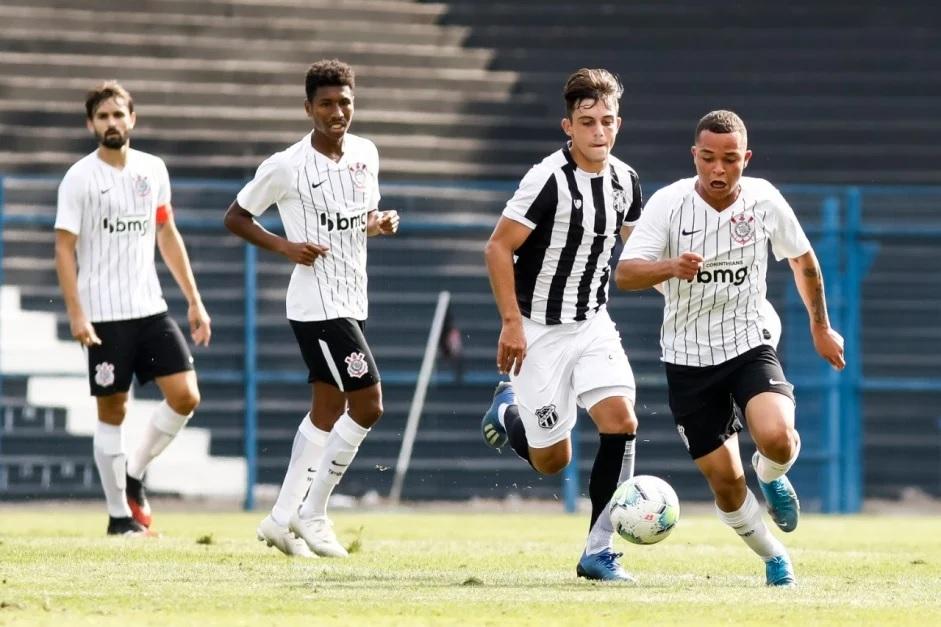 Corinthians e Ceará empatam pelo Brasileirão de Aspirantes