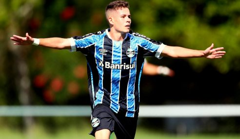 Grêmio vence Vasco fora de casa pelo Brasileirão sub-20