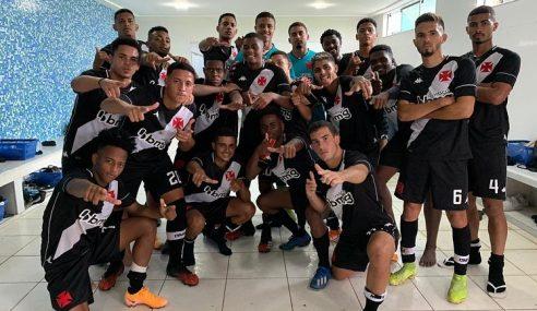 Vasco da Gama goleia Friburguense pela Taça Rio sub-20