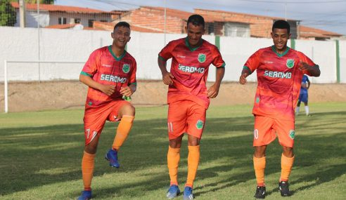 Floresta vence Fortaleza pela terceira rodada do Cearense Sub-17