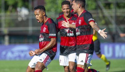 Tem Fla-Flu novamente nas quartas de final do Brasileirão Sub-20