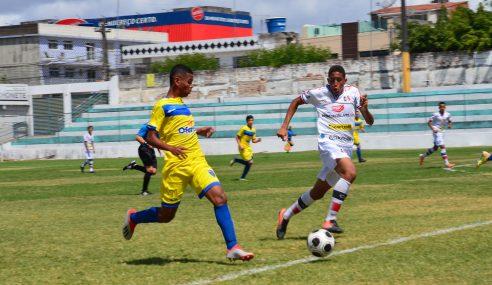 Santa Cruz goleia Caruaru City pela segunda rodada do Pernambucano Sub-15