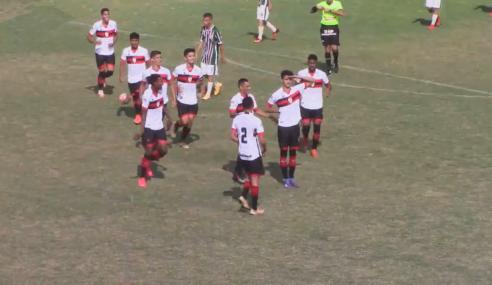 Atlético bate Flugoiânia e fica perto da final do Torneio FGF Sub-17