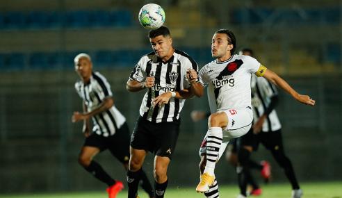 Vasco busca empate com o Atlético-MG no fim e semifinal da Copa do Brasil Sub-20 segue aberta