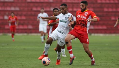 Palmeiras busca empate duas vezes, bate Audax nos pênaltis e vai à final do Paulistão Sub-20