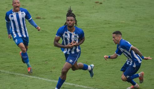 Artilheiro marca no fim e Avaí arranca empate com o Grêmio no Brasileirão de Aspirantes