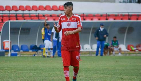 Com quatro de Rauan, CRB goleia Moto Club e avança na Copa do Nordeste Sub-20