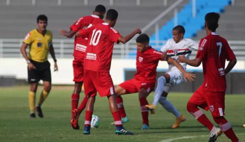 São Paulo volta a bater CRB e avança na Copa do Brasil Sub-17