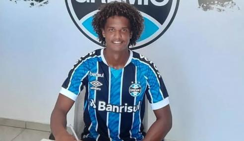 Grêmio contrata meia da Perilima para o sub-20