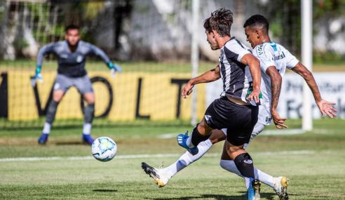 Ceará vence, elimina Grêmio e se classifica às semifinais do Brasileirão de Aspirantes