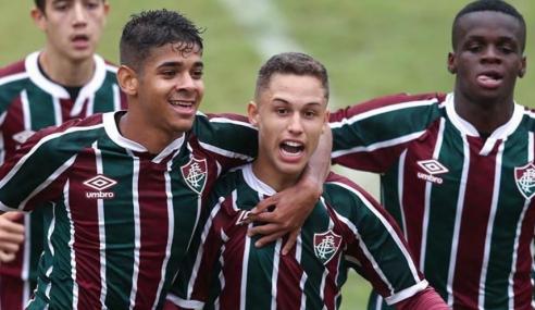 Fluminense goleia Confiança fora de casa e avança na Copa do Brasil Sub-17